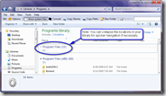 Custom Library Contents in Windows 7